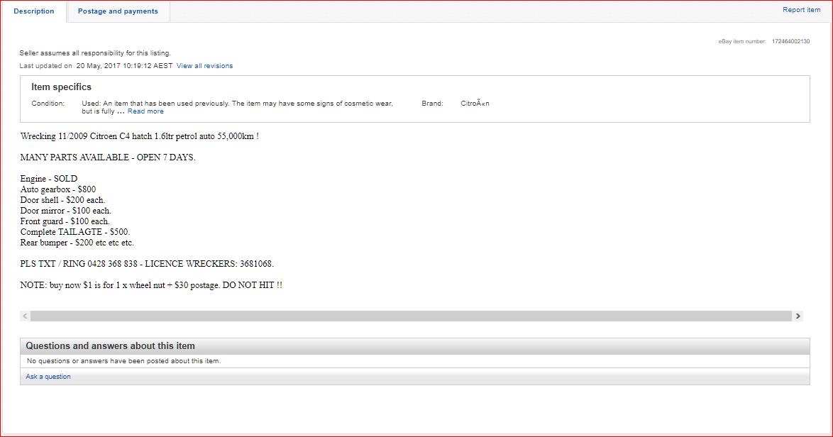 Ebay Bait Advertising Apparently Perfectly Ok Shopping Community
