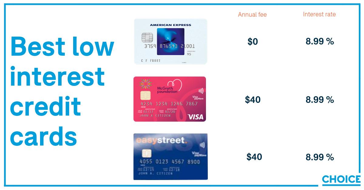 Low interest credit cards - Money - Community