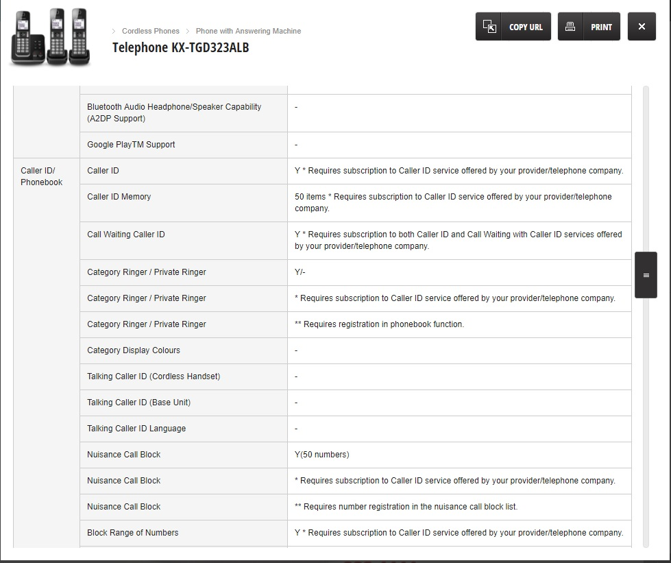 Panasonic Phone Number >> Panasonic Cordless Phone Website Tells A Lie Electronics