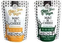 Photograph of Gluten Free Vegan Mac N Cheez varieties|200x141